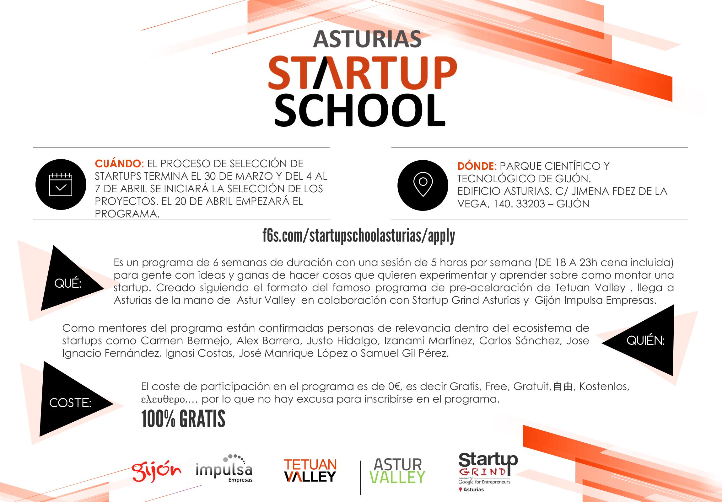 Flyer Startup School